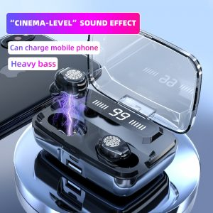 Bluetooth Headphone 9D Super Bass Wireless Headphones TWS Bluetooth5.0 earphone HiFi IPX7 Waterproof earbuds Touch Control