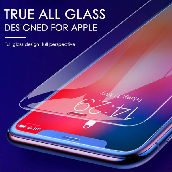 3Pcs Tempered Glass On The For iPhone 7 8 6 6s Plus 5 5S SE Screen Protector For iPhone X XS Max XR 11 Pro Max Protective Glass