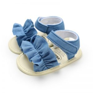Summer Baby Sandals for Girls Newborn Dot Bow Princess Baby Girl Shoes Cotton Sandals Baby Girl Shoes