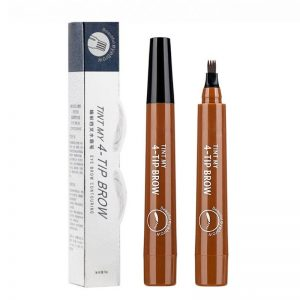 4 Arrow Heads Microblading Liquid Eyebrow Pencil Waterproof Sharp Tips Eye Brow Pencils Eye Liner Beauty Makeup Tools for Women