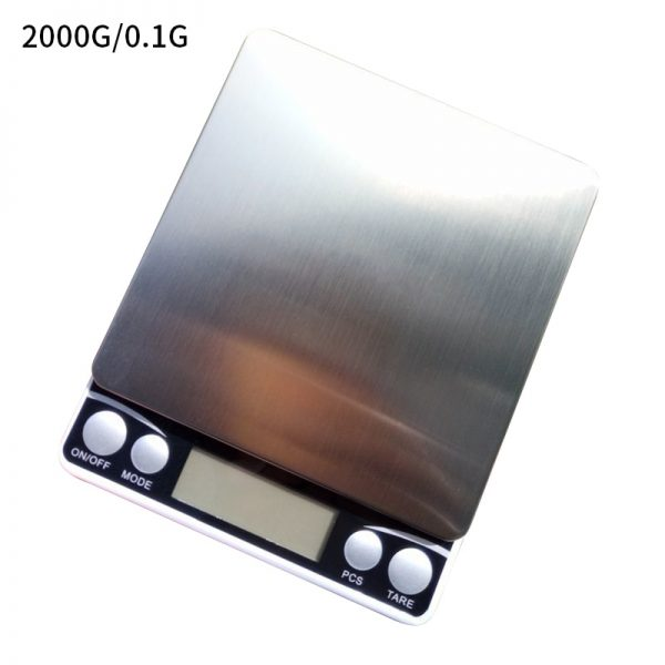 LCD Precision Scale Gram Electronic Jewelry Scales Weight Balance for Tea Baking Digital Weighing Scale 500g/1/2/3kg 0.01/0.1g